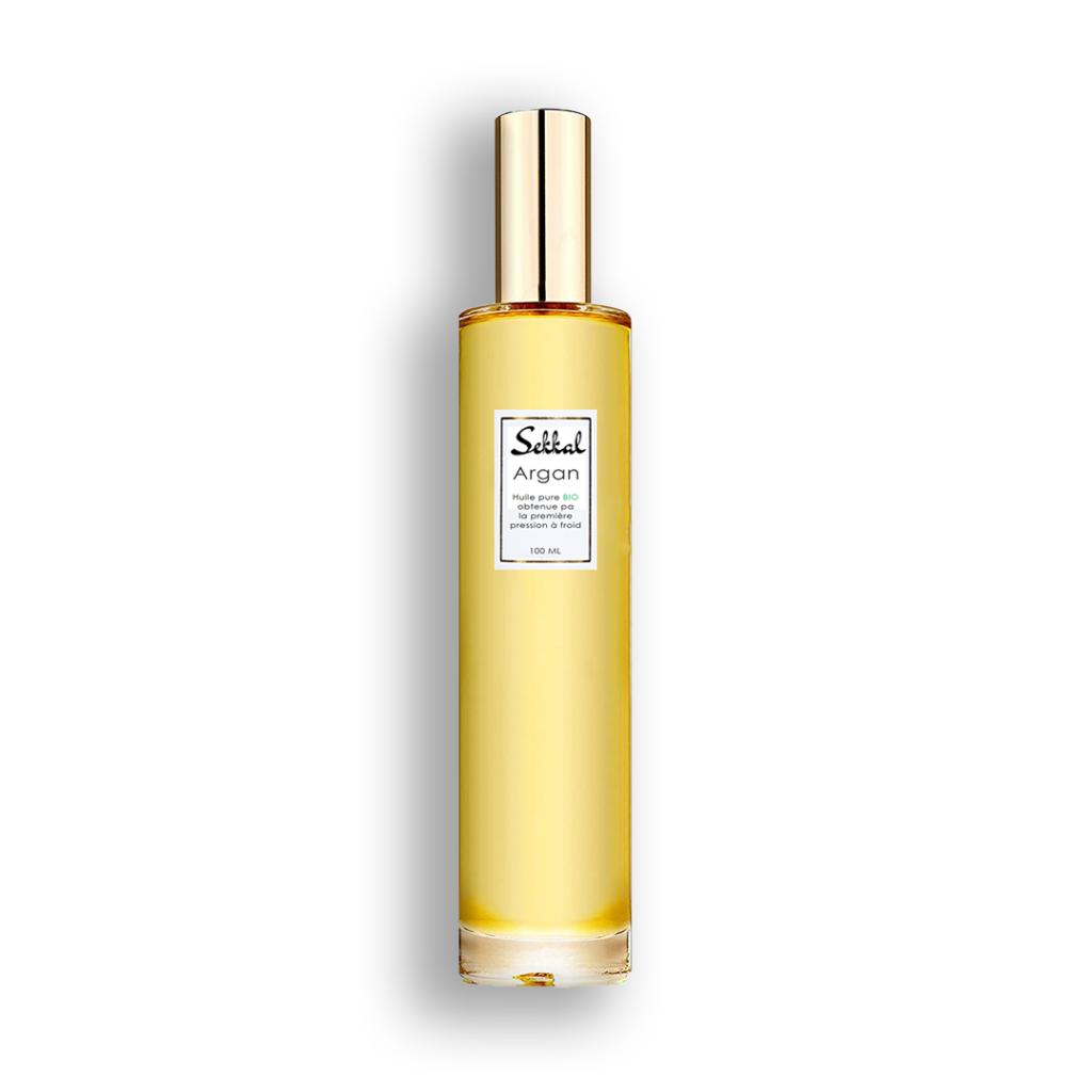 l'huile d'argan cosmétique certifiée bio par ecocert obtenue par la première pression à froid
